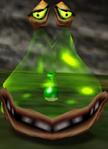 Grüner Wabbler