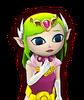 Portrait Zelda Cartoon HWL3