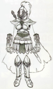 Twilight Princess Artwork Hero's Shade - Female (Concept Art)