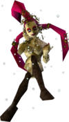 A Great Fairy from Ocarina of Time