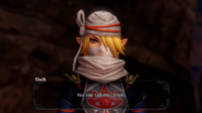 Hyrule Warriors The Sheikah Tribesman Sheik's Introduction (Cutscene)