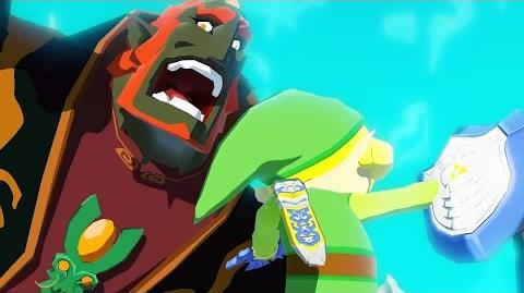 Zelda Wind Waker HD Ganondorf Final Boss Fight