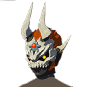 BotW Dark Armor (The Champion' Ballad DLC) Phantom Ganon Skull (Icon).png