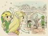 Link et Zelda château ST