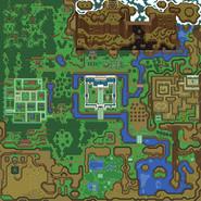 Mapa de Hyrule AlttP