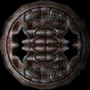 Twilight Princess Enemy Weapons Stalfos Metal Shield (Render)