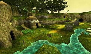 Village Kokiri OOT3D.jpg