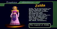Zelda (Tropähe aus SSBM)