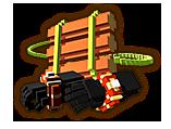 Hyrule Warriors Gauntlets 8-Bit Raft & 8-Bit Power Bracelets (8-bit Gauntlets)