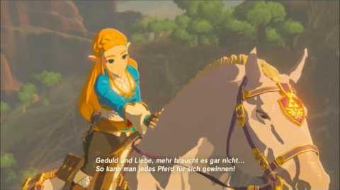 The Legend of Zelda Breath of the Wild - Zur Ranelle-Spitze Erinnerung Cutscene (Nr