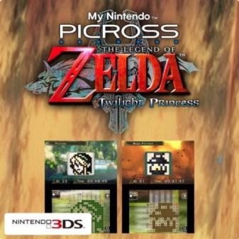 My Nintendo Picross - The Legend of Zelda : Twilight Princess