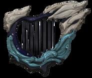 Hyrule Warriors Typhoon Harp (Render)