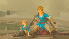 Link protégeant Zelda BOTW.png