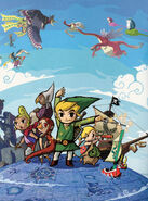 Persos principaux (The Wind Waker)