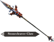 Hyrule Warriors Dragon Spear Stonecleaver Claw (Render)