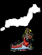 Mascarón Rojo Japón Comparación
