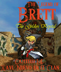 AnewLegend/The Legend of Brett: The Golden Krystal/Capítulo 14/Xavi, Nuevo en el Clan
