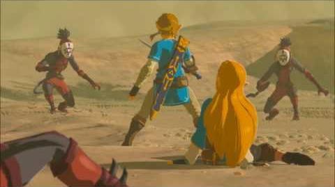 The Legend of Zelda Breath of the Wild - Angriff der Yiga Erinnerung Cutscene (Nr