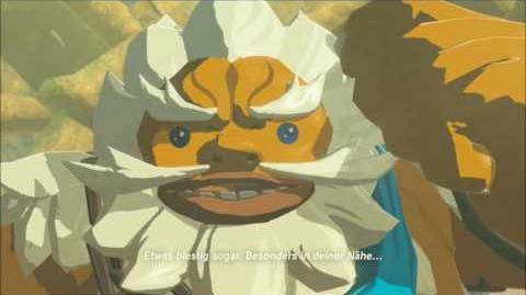 The Legend of Zelda Breath of the Wild - Daruk Erinnerung Cutscene (Nr
