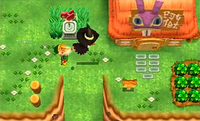 Link y Airín Volando