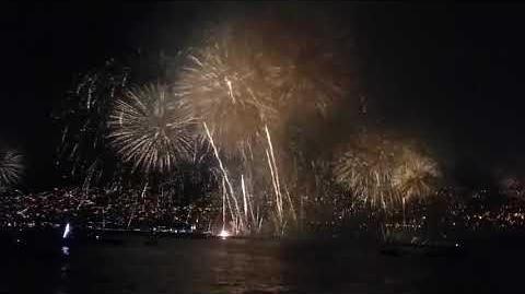 Año Nuevo, Valparaíso 2019