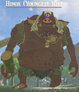 Breath of the Wild The Hinox Bros Hinox (Youngest Kin)