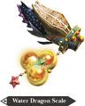 Hyrule Warriors Zora Scale Water Dragon's Scale (Render)