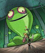Artwork Link vs. Gran ChuChu Verde TMC