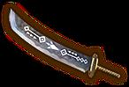 Espada grabada HW