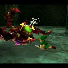Link contra Reina Gohma OoT 3D.png