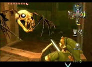 Bubble ataca a Link
