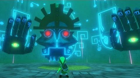 Zelda Wind Waker HD Gohdan Boss Fight 3
