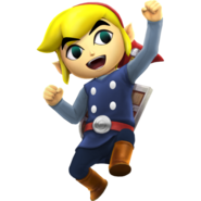 Hyrule Warriors Legends Toon Link (Engineer's Clothes) Standard Outfit (Grand Travel)