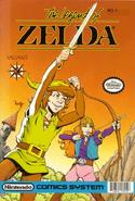 Zelda NES Cómic número 1