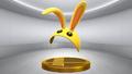 Super Smash Bros. for Wii U Bunny Hood (Mask) Bunny Hood (Trophy)