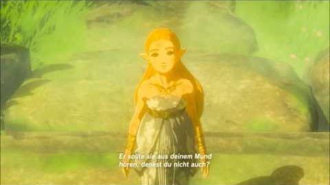 The Legend of Zelda Breath of the Wild - Das Master-Schwert Erinnerung Cutscene (Nr