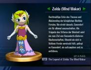 Zelda (The Wind Waker-Trophäe aus SSBB)