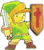 Link Bouclier TLOZ