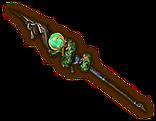 Hyrule Warriors Spear Kokiri Spear (Level 2 Spear)