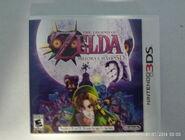 The Legend of Zelda- Majora's Mask 3D NA Box Art