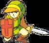 Link bouclier 2 LoZ