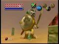 Link con la Máscara de Gigante en la versión de Nintendo 64 MM