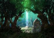 Artwork Espada Maestra Link ALBW