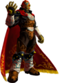 Ocarina of Time 3D Artwork Ganondorf - The Gerudo King of Evil(Offical Artwork)