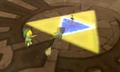 Master Sword in Wind Temple