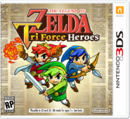 Tri Force Heroes Boxart