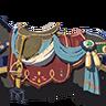 Breath of the Wild Key Item (Extravagant Horse Gear) Extravagant Saddle (Icon)