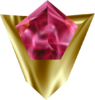 The Goron's Ruby as it appears in-game