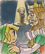 Rey Rízor piediendo ayuda Link Cursilinda
