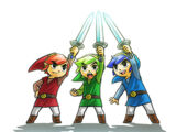 The Legend of Zelda: Tri Force Heroes characters